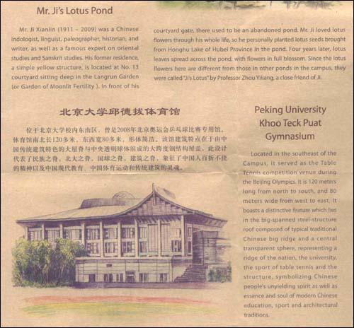 回至 北京名胜手绘图:北京大学(珍藏版) (平装)