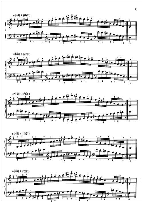 音阶与琶音