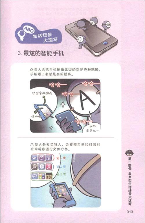 韩国漫画血型书