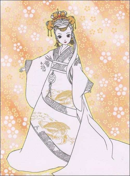 漫画女主在古代是公主图片