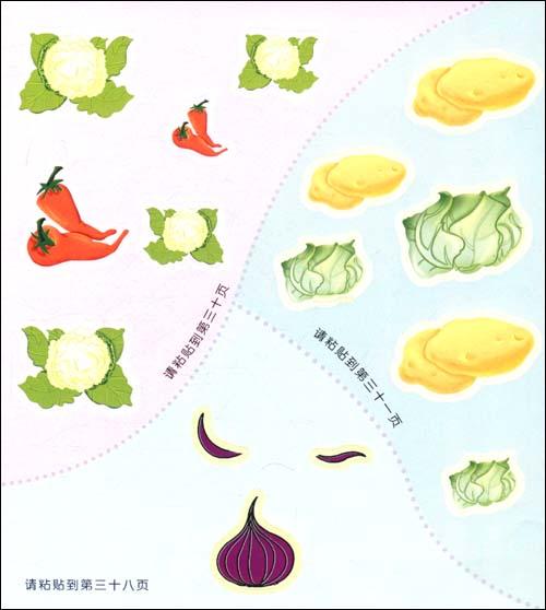 蔬菜步骤二笔画