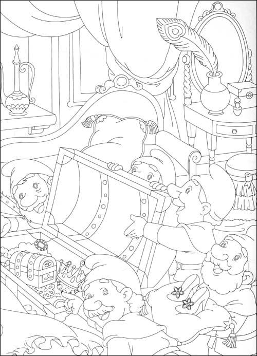 美少女填色:白雪公主之梦幻婚礼(狂欢版)(附贴纸100张)