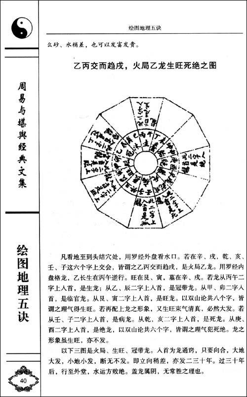 周易与堪舆经典文集:绘图地理五诀
