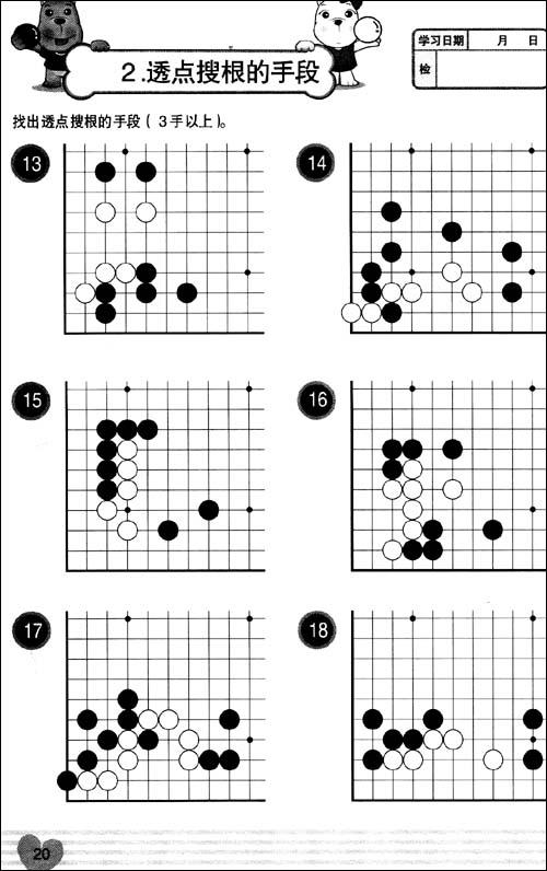 21世纪新概念•速成围棋:高级篇