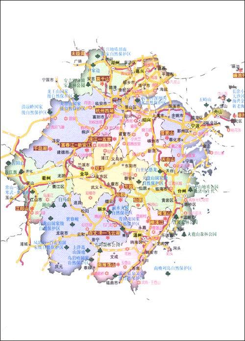 江苏地图全图展示