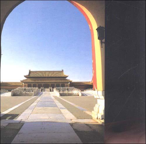故宫城池明信片