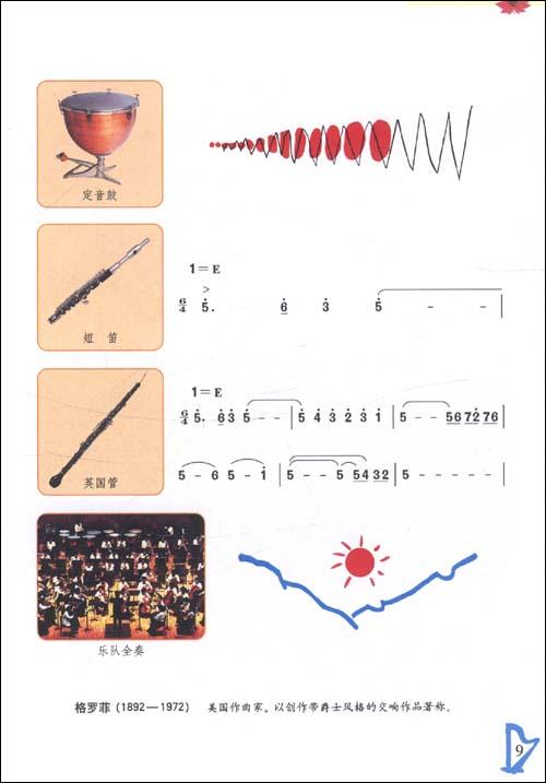 准实验教科书 音乐 简谱版 8年级 第16册