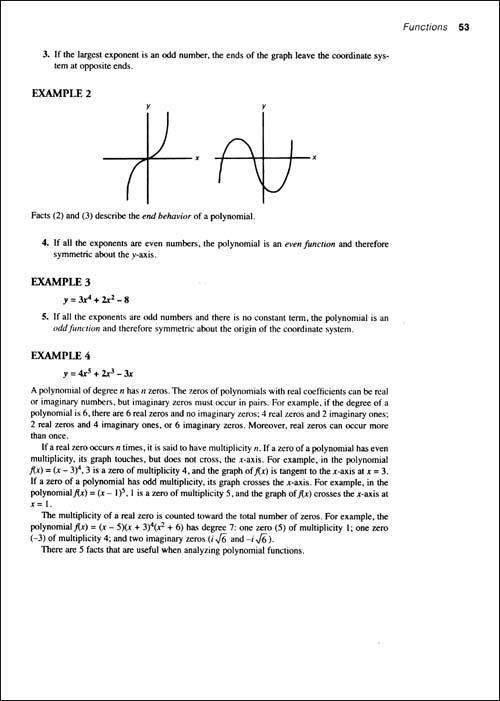 Barron's SAT 2:数学