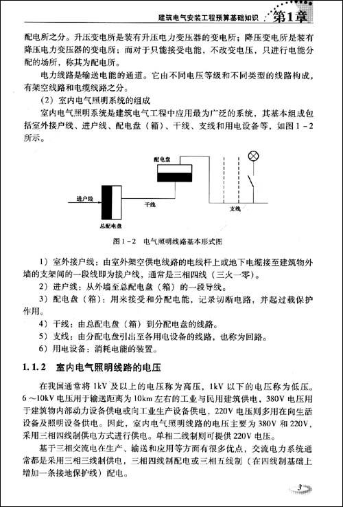 看图学电气安装工程预算