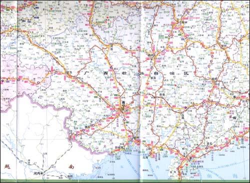 重庆到云南旅游报价_中国区域交通旅游详图:四川重庆云南贵州\\/中国