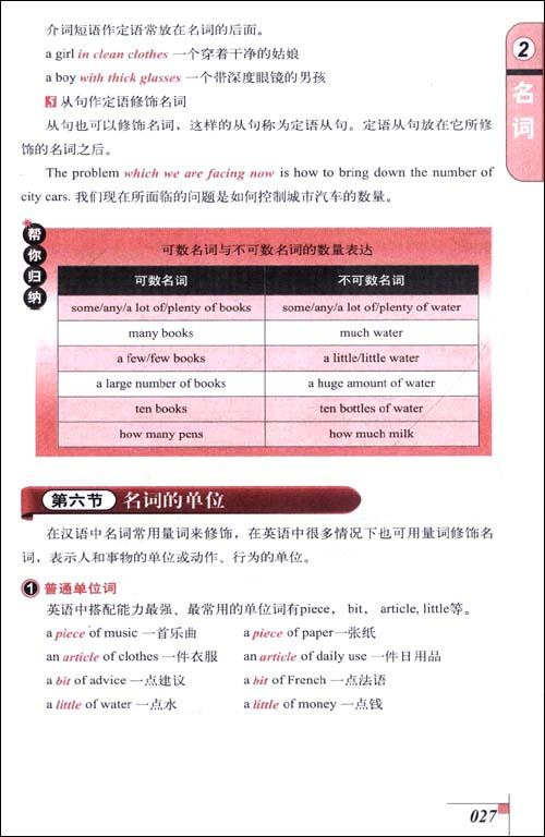 新课标•初中英语语法大全