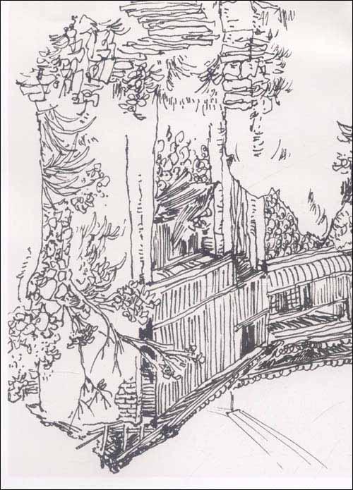 简笔画 手绘 素描 线稿 500_695 竖版 竖屏