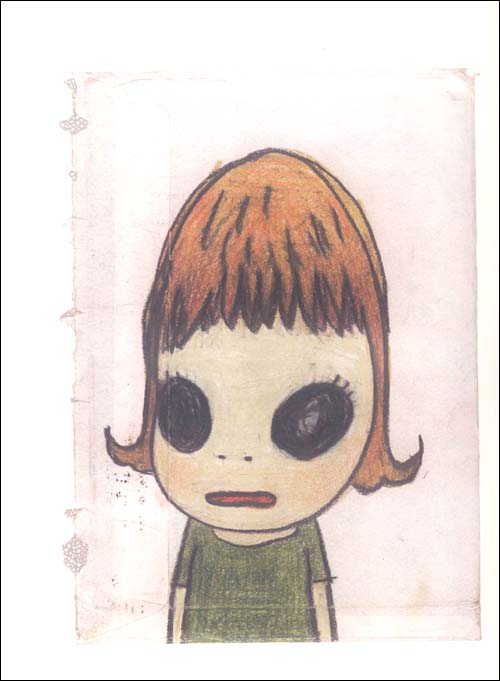 《奈良美智·横滨手稿Drawing File》