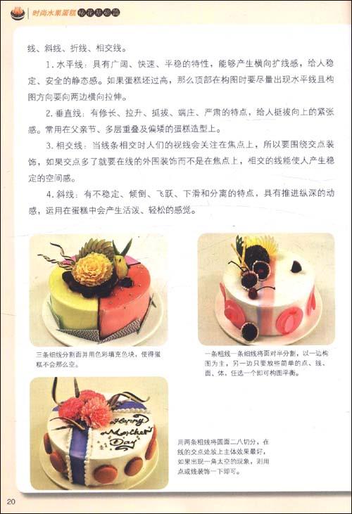 时尚水果蛋糕:裱花基础篇