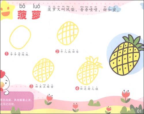 奇妙的儿歌简笔画:美味食物篇