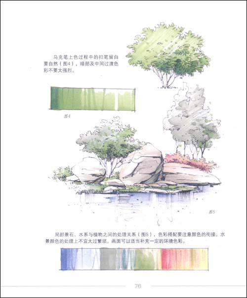 景观手绘表现基础技法:亚马逊:图书