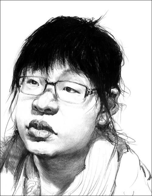 敲门砖系列美术丛书(第2季):素描头像/赵春笑-图书; 敲门砖系列美术丛