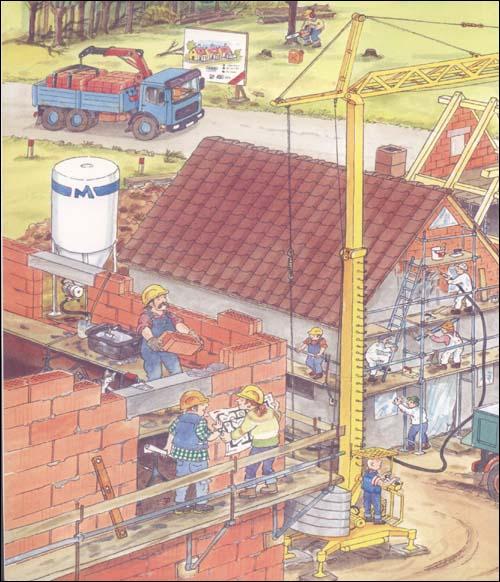 情境认知绘本:建筑工地
