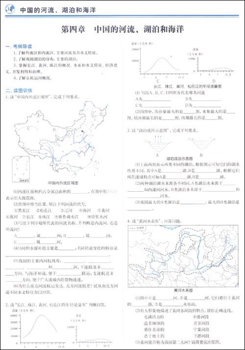 高中优秀地理手抄报 高中地理必修三图片