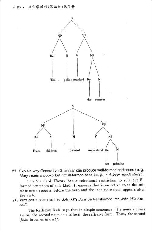 语言学教程练习册