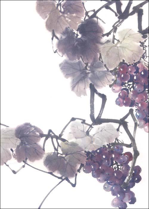 回至 中国画技法彩墨葡萄画法 (平装)