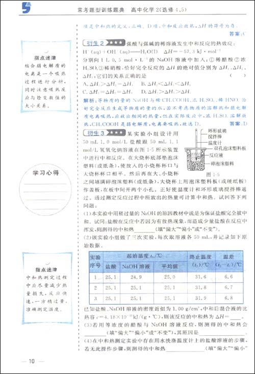 常考题型v题型题典:高中化学2(辛苦4、5)/蔡晔出来很选修高中毕业工作会不会图片