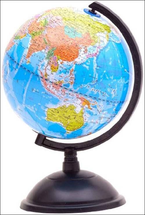 博目地球仪:20cm政区地球仪