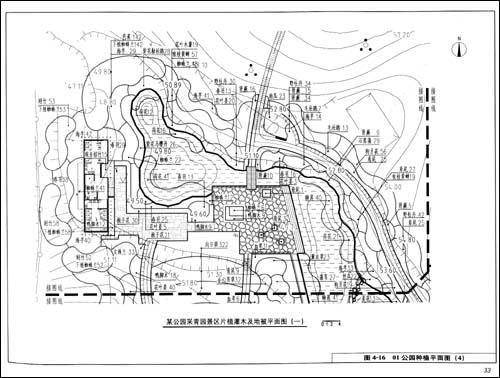 61打蛋蛋-图解园林施工图系列5:种植设计/深圳市北林苑景观及建筑规划图片