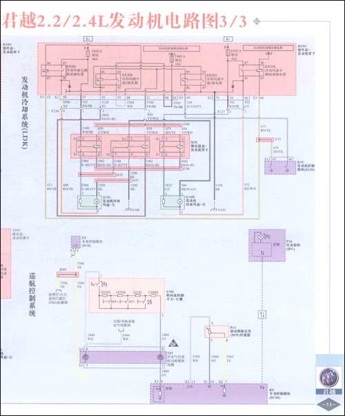 2008-2010款汽车发动机系统电路图集(增补分册)