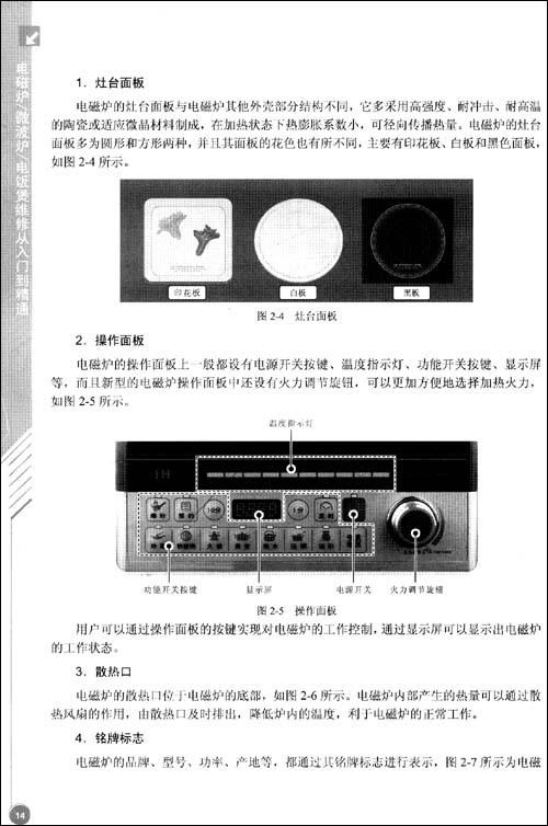 带有浪涌保护电路的电磁炉出现不加热故障现象时,应按照以下检修流程