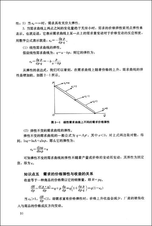 高鸿业版《西方经济学》学习手册