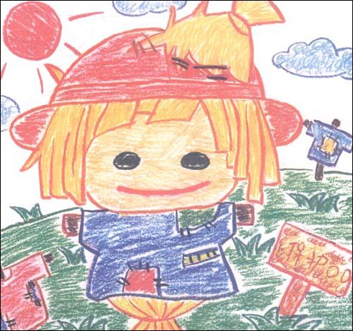 小孩画世界5:卡通明星 [平装]