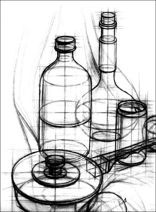 回至 俞建国静物素描临摹范本 (平装)