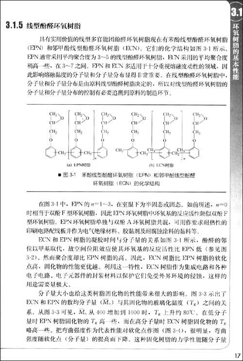 插图: 双酚f型环氧树脂(dgebf)由双酚f与ech反应制得,相当于在结构上