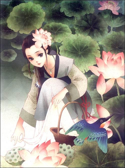中国古典美女漫画技法:亚马逊:图书