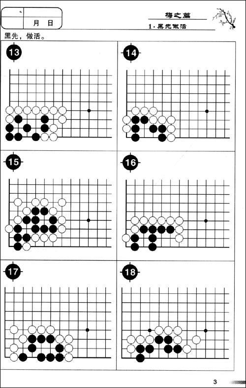 围棋进阶读本:梅•兰•竹•菊