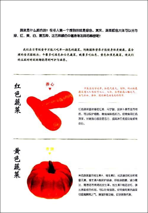 中国地道食材:蔬菜分步详解图录大全