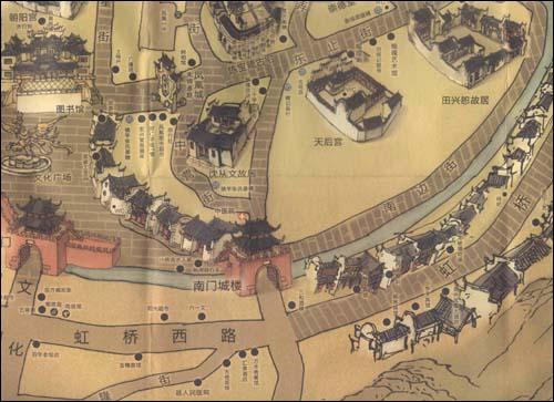 《神游凤凰:凤凰古城手绘图》