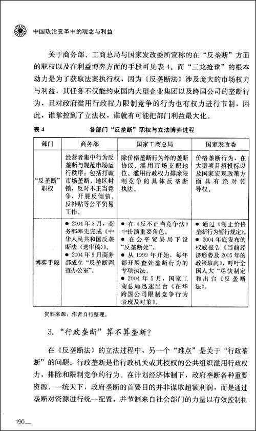 政治学前沿丛书:中国政治变革中的观念与利益