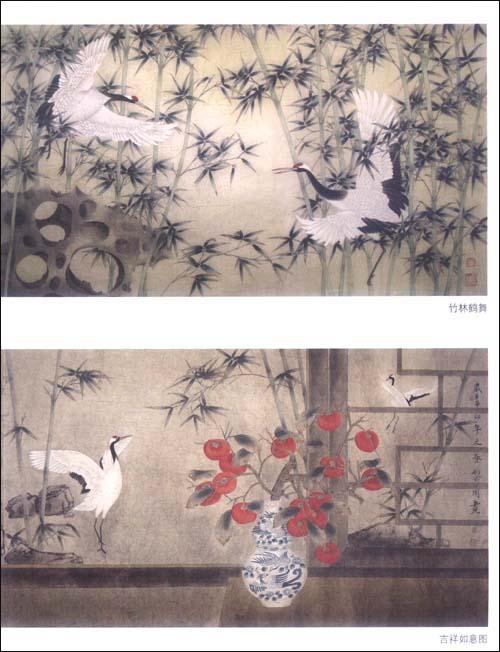 工笔仙鹤画法 工笔仙鹤画法视频 工笔松树仙鹤的画法图片