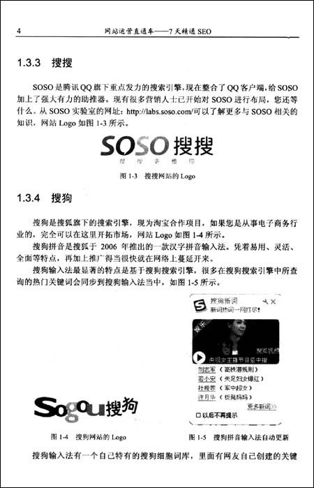 网站运营直通车:7天精通SEO