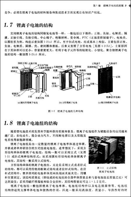 锂离子电池:应用与实践