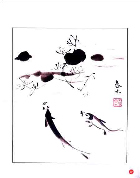 燕子手绘画法