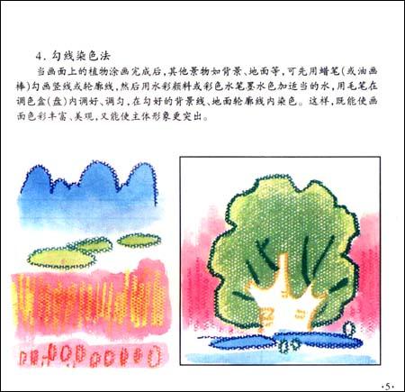 儿童蜡笔画技巧:植物/刘金成-图书-亚马逊