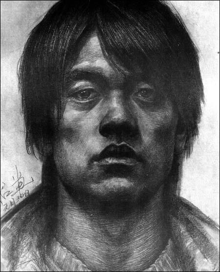 本:素描人头像》