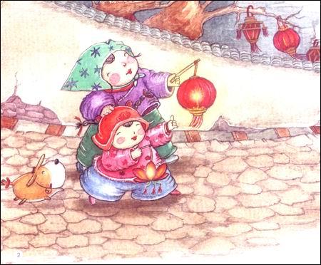 回至 中国记忆传统节日图画书 (平装)