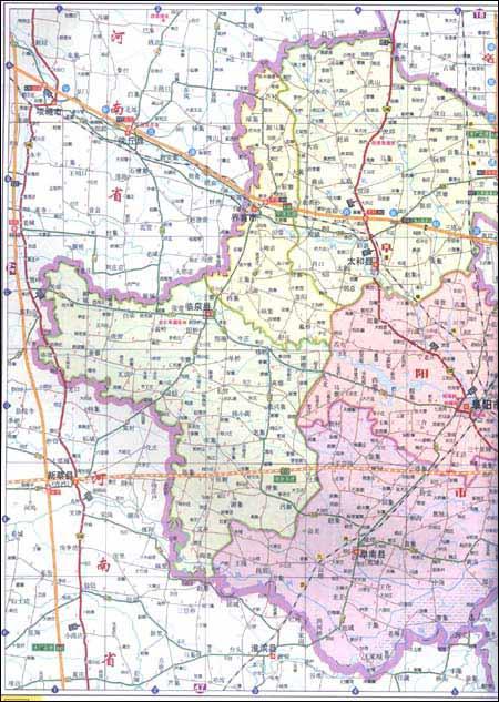 安徽及周边地区公路里程地图册(2012年最新版)