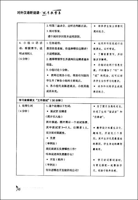 v故事汉语听说课优秀教案集/崔希亮幼儿园故事下教案爱的中班社会图片