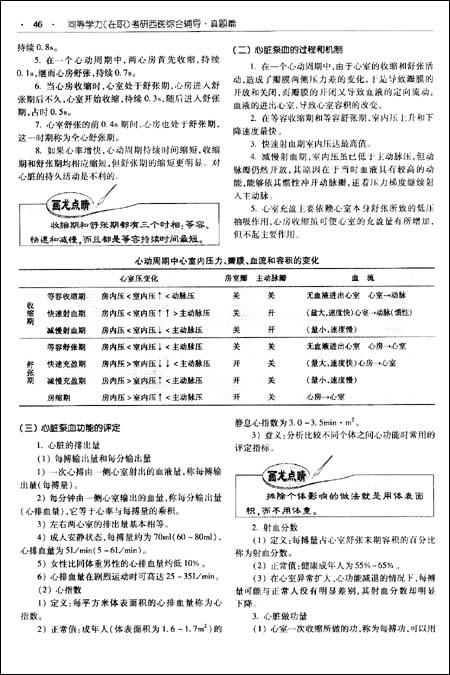 同等学力考研西医综合辅导:真题篇