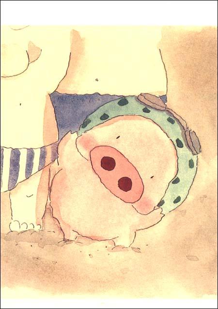 清晰可爱的猪猪头像